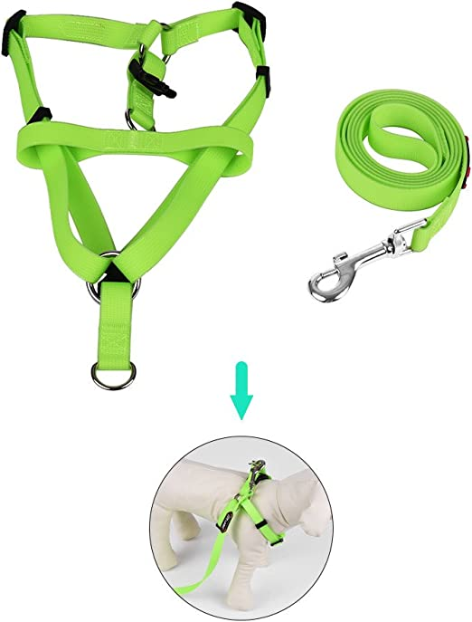 AhomeJsr 2pcs / Set Dog Harness & Leash Set Incluye arnés ...