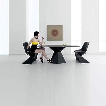 Amazon.com : Vondom Vertex Silla Chair for Outdoor Black : Garden & Outdoor