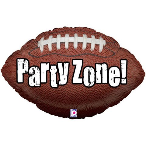 Football Shape Ball Party Zone Sports Boy Birthday