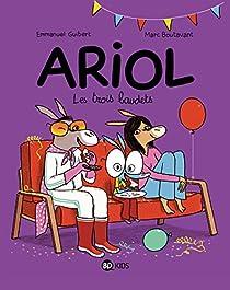 Ariol, tome 8 : Les trois baudets par Guibert