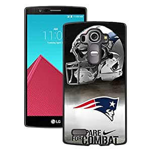 New England Patriots Black Fantastic Unique Cusstomized LG G4 Case