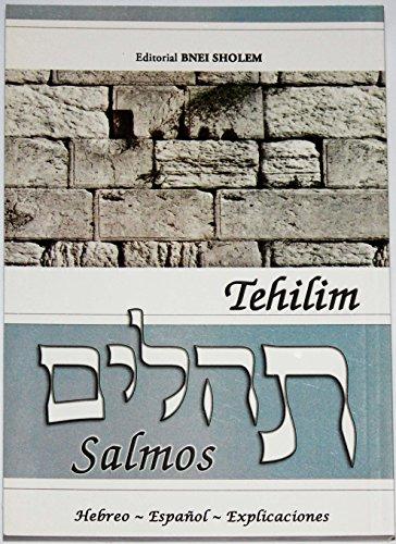 Tehilim Book - Tehilim Salmos Hebreo - traducido al Espanol con explicaciones, bilingue Gray