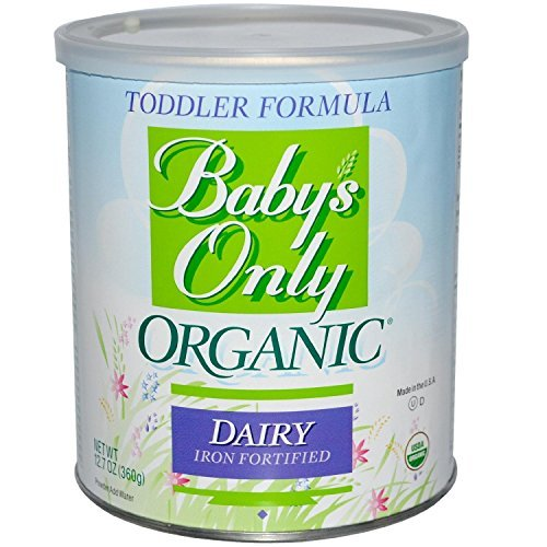 Babys Only Organic Toddler Formula, Dairy Iron Fortified