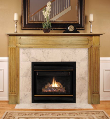 Pearl Mantels 110-48 Williamsburg Fireplace Mantel, 48-Inch, -