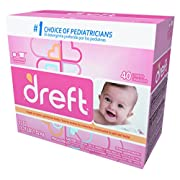 Dreft 85882 Ultra Powdered Laundry Detergent, Baby Powder Scent, 53 oz Capacity, 7.94  Height, 6.81  width (Pack of 4)