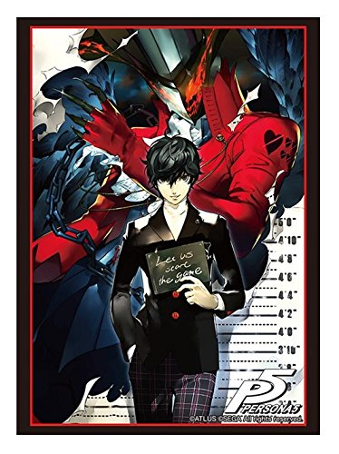 Persona 5 Protagonist P2 Trading Anime Card Game Character Sleeves Protector Collection Vol.1268