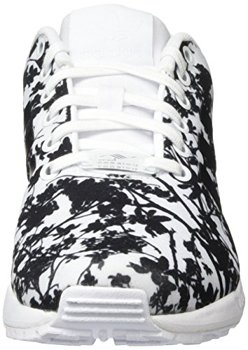 Adidas Originals Zx Flux W Dames Trainers Wit S74981 Wit-zwart