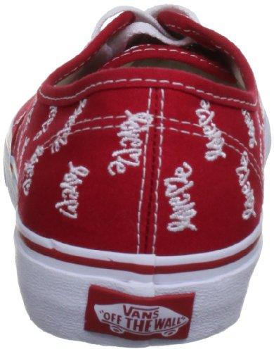 Varevogne Autentiske, Unisex-erwachsene Sneakers Rød Print