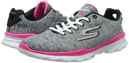 Fit Sneaker Fitness Grey Mat Goga Stellar Gris Go Women's Tr Skechers Trainers 5RZwqYC