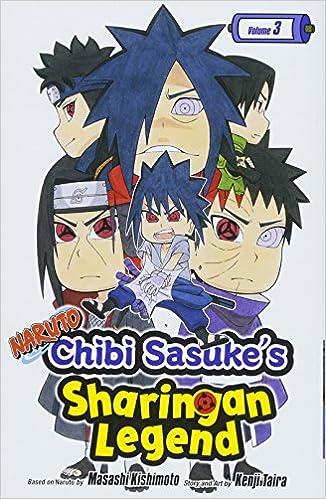 Amazon.com: Naruto: Chibi Sasukes Sharingan Legend, Vol. 3 ...