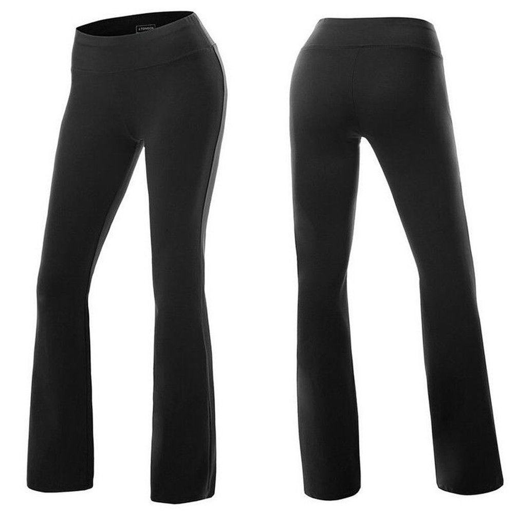 d2595ddd23c2ae Active high waist yoga pants for women: made of high performance spandex  fabric. These spandex pants are sleek and feel like satin on the skin.