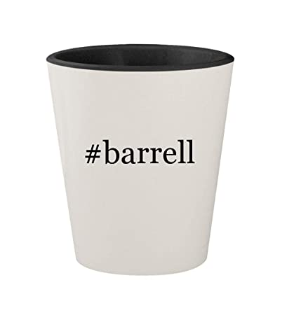 amazon com barrell ceramic hashtag white outer black inner