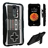 LG Tribute 5 Case / LG K7 Case, DuroCase ® Hybrid Dual Layer Combat Armor Style Kickstand Case for LG Tribute 5 / LG K7 (Released in 2016) – (Game Controller) Review