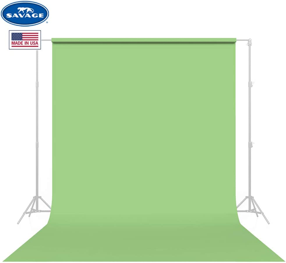 Savage Seamless Background Paper - #40 Mint Green (53 in x 36 ft)