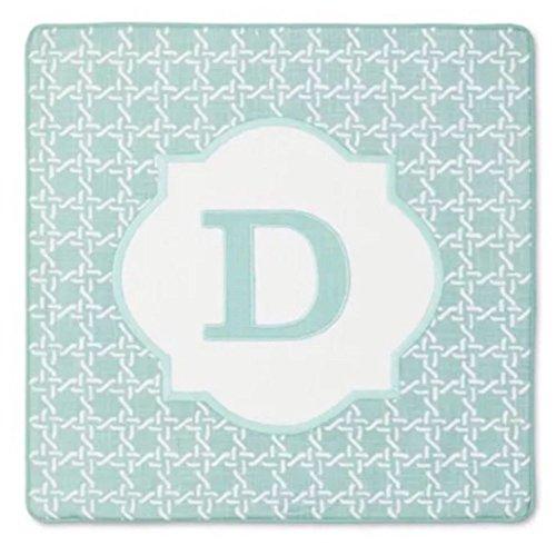 - Threshold Monogram Pillow Cover,