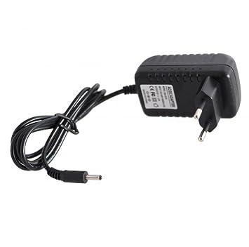 SATKIT Adaptador Corriente 5VDC 2A Conector 3,5mm x 1,35mm Tablets y camaras de Seguridad
