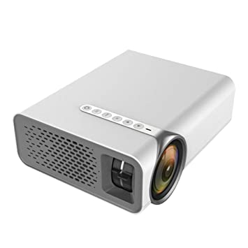 MaNMaNing Proyector LED 1080P YG520 Portátil para el Hogar USB ...