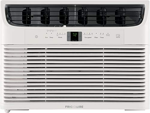 Frigidaire Energy Star 10 000 Btu 115v Window Mounted Compact Air Conditioner With Full Function Remote Control White