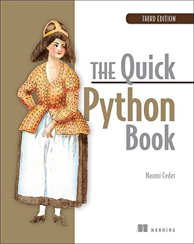 Book cover of The Quick Python Book by Naomi Ceder