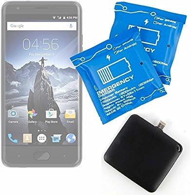 DURAGADGET Batería de Emergencia desechable para Smartphone Haehne ...