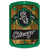 MLB Chicago White Sox 11-by-17 Wood Sign Traditional Look