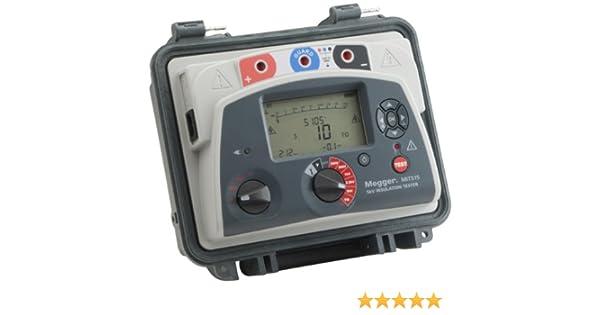 Megger Mit515 Us Insulation Tester 10 Teraohms Resistance 5kv Multi Range Test Voltage Amazon Com Industrial Scientific