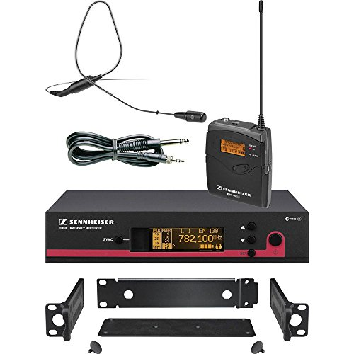 Sennheiser ew 172 G3 (bodypack, Ci1 instrument cable, rack receiver) with GA (Ci1 Instrument Cable)