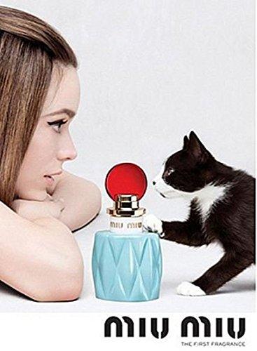 **PRINT AD** With Stacy Martin For 2015 Miu Miu Fragrance **PRINT - Miu Miu 2015