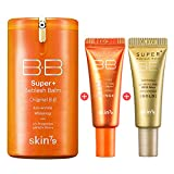[SKIN79] Orange Super Plus BB Cream 3psc Set - Orange BB 1.35 fl.oz. (40ml) + Orange BB (7g) + Gold BB (7g) by SKIN79 Official