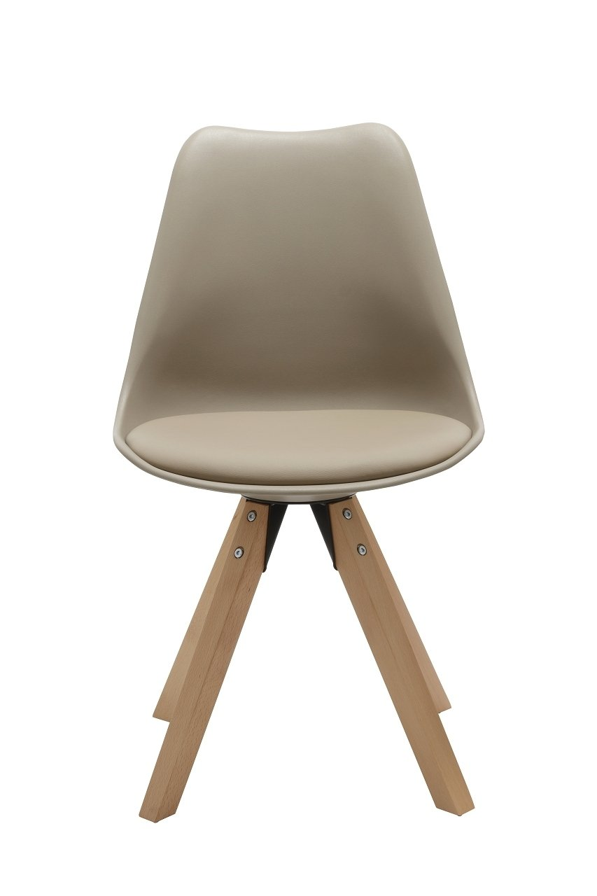 Duhome Elegant Lifestyle® Stühle 2er Set in CAPPUCCINO, Esszimmer ...