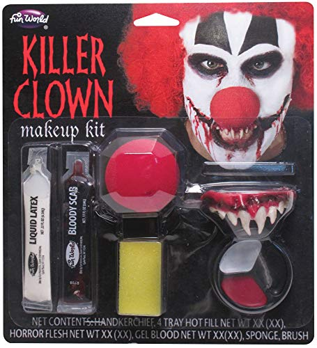 Killer Clown Makeup Kit Costume Makeup]()