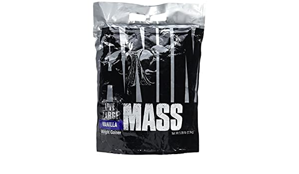 Animal - Animal mass - 2,3kg - Vainilla: Amazon.es: Salud y ...