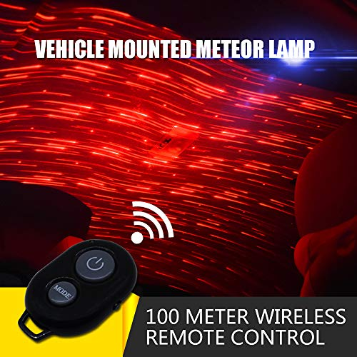 USB 100mw Laser Atmosphere Ambient Star led Glow The interiors Multiple Modes Lights for car/Home/Party (Best Car Ambient Lighting)