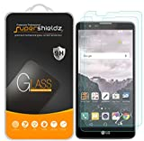 [2-Pack] Supershieldz for LG (Stylo 2) Tempered Glass Screen Protector, Anti-Scratch, Anti-Fingerprint, Bubble Free, Lifetime Replacement