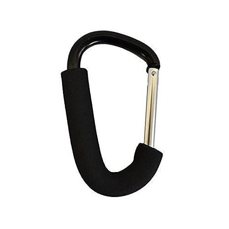 Small Buggy Clip Hook Mummy Clip Black