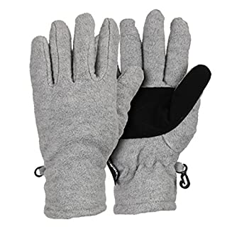 Women's Thinsulate Lined Fleece Gloves - Gray Large (B0061I2PVW) | Amazon price tracker / tracking, Amazon price history charts, Amazon price watches, Amazon price drop alerts