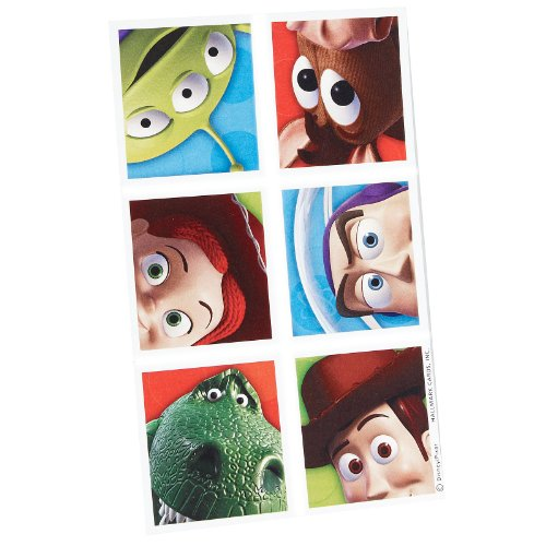 Hallmark Toy Story 3 Stickers - 4 sheets