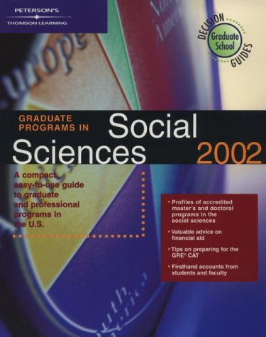 DecisionGd:GradPrgSocScience02 (Peterson's Decision Guides: Graduate Programs)