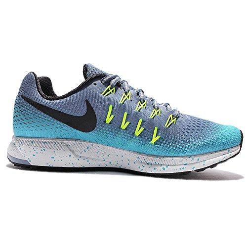 Nike Women's WMNS Air Zoom Pegasus 33 Running Shoes Ocean Fog/Black-gamma Blue-volt Psawq3KZLc