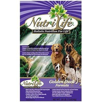 Nutrilife Duck Dog Food, 30-Pound