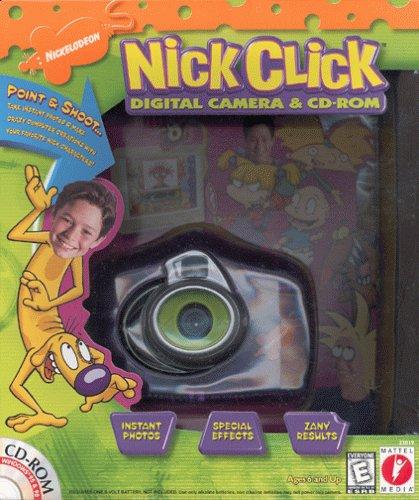 mattel-nick-click-digital-camera-compact-blue-translucent