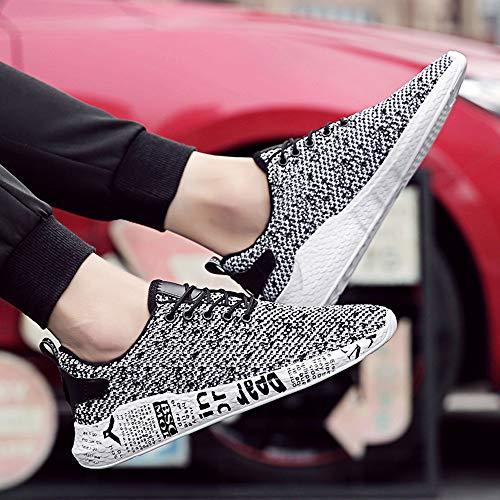 Scarpe Beautyjourney Grigio Lavoro Uomo b Da Ginnastica Sneakers Corsa Sportive Estive Cross Running drqwar