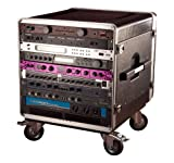 Gator 10U Rack Base with Casters for Console Audio Racks (GRC-BASE-10)