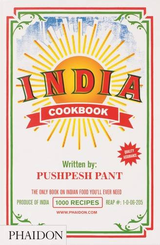 India: The Cookbook by Pushpesh Pant