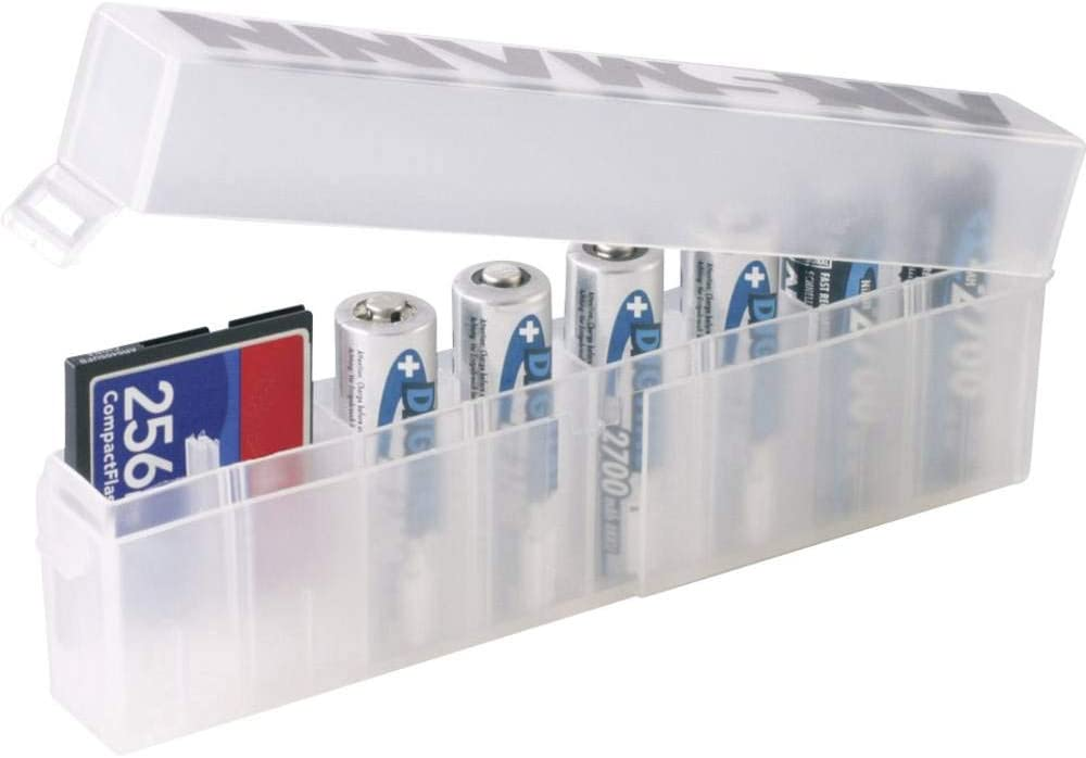 Transparente, Policarbonato, AA//AAA Wentronic 54535 Caja