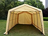 Bestmart INC 10x15 Ft Heavy Duty Beige Carport Portable Garage (Small Image)