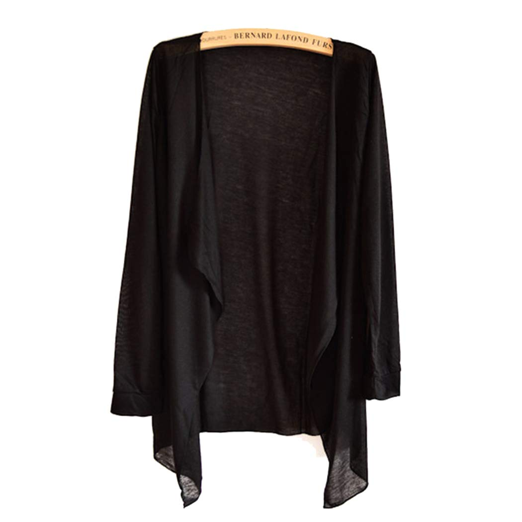 AIRY LONG SLEEVE SWEATER COVER-UP