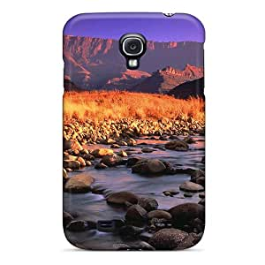 New Fashionable ShaCke GPZzyGa1089mXkgv Cover Case Specially Made For Galaxy S4(soft Flowing River)