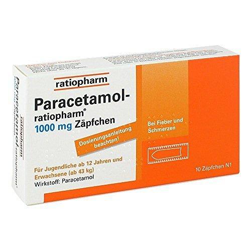 Paracetamol-ratiopharm 1000 mg, 10 St