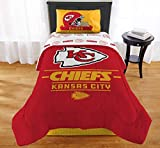 "The Northwest Company NFL Kansas City Chiefs ""Monument"" Twin XL Comforter #541727615"